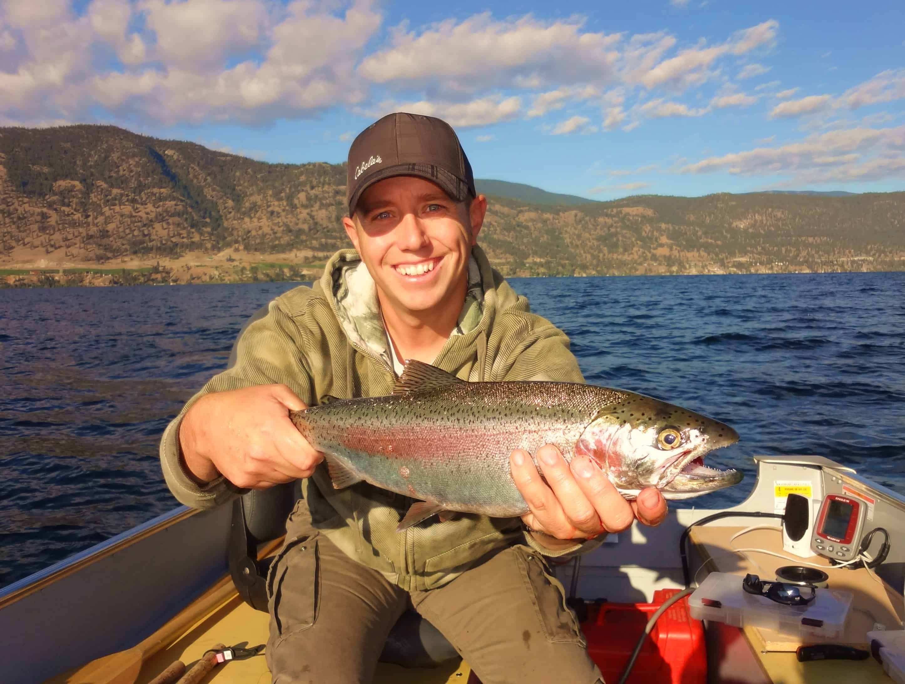 good fishing lakes in okanagan